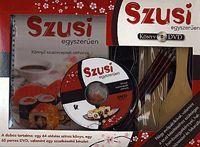 Szusi egyszerűen (DVD melléklettel) könyv- Dalnok Kiadó Zene- és DVD Áruház - Gasztronómia, szakácskönyvek - Nemzetközi konyha
