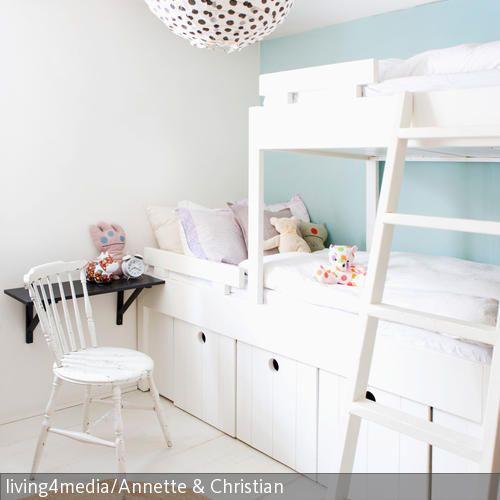 Perfect Gem tliches Etagenbett f r das geteilte Kinderzimmer Mit viel Stauraum darunter hochbett Mehr auf