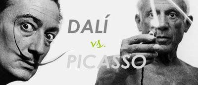DALI' VS PICASSO