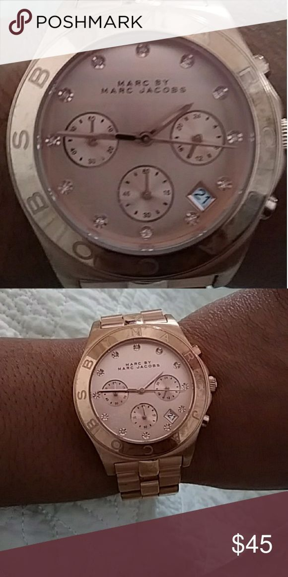 Montre pour femme : Marc Jacobs watch Rose Gold womans watch Marc by Marc Jacobs Jewelry