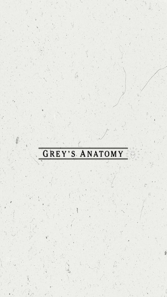 Lockscreen Grey's Anatomy