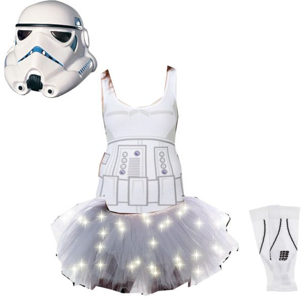 """""""Stormtrooper Running Costume"""" would only be able to wear the mask for photos"""