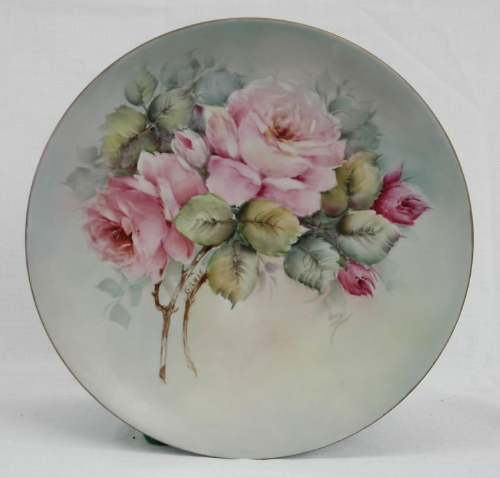 "W.O.C.P. World Show Information: Jacque Gilman  10"" Plate  $65.00 includes postage in the US"