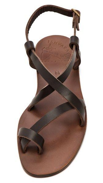 ISHVARA Ibiza Flat Sandals......I Love me a Jesus sandal
