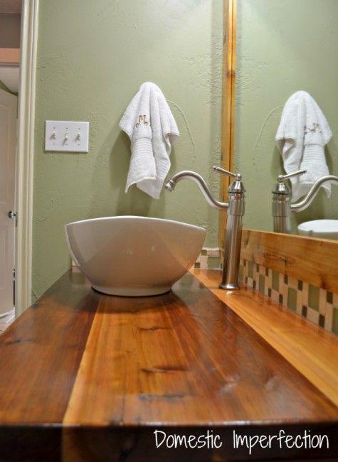 Rustic Industrial Bathroom Vanity I Will Industrial And