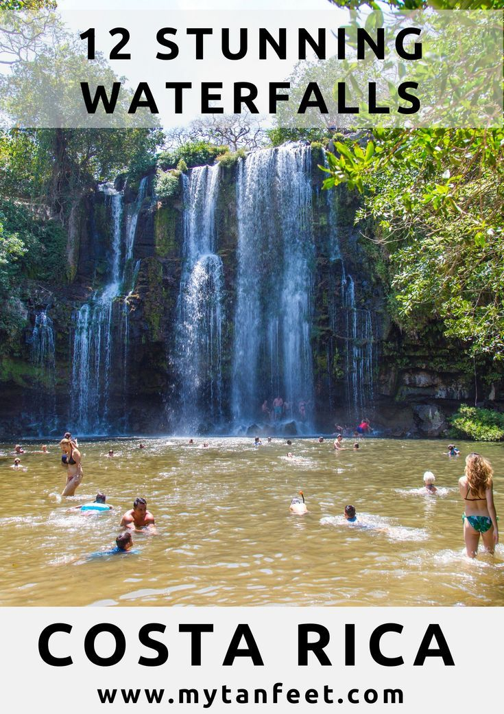 11 Wonderful Waterfalls in Costa Rica Plus