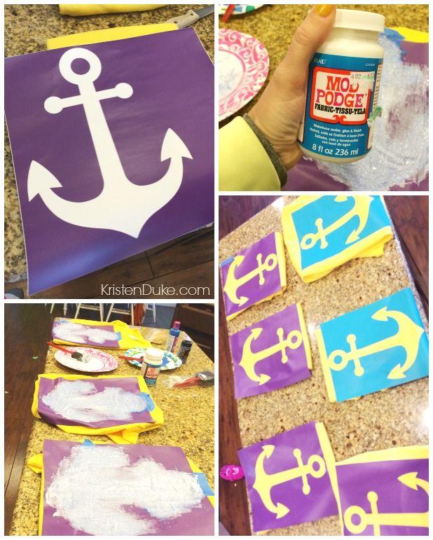 make an anchor shirt