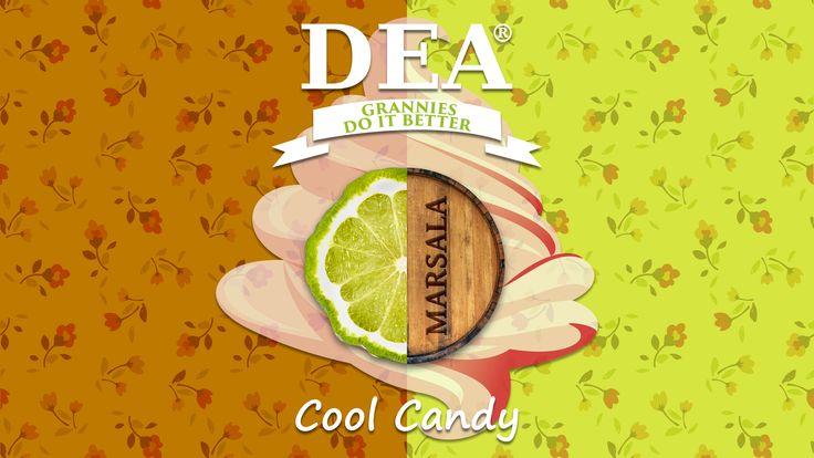 Aroma Cool Candy di Granny Rita: caramella balsamica con marsala e bergamotto  #aromiDEA