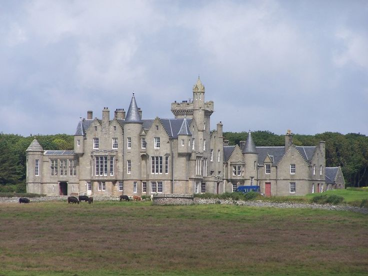 Scottish Islands - Balfour Castle, Isle of Shapinsay, Orkney Islands