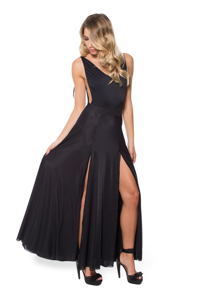 I got this just after Christmas!! I love it!. Sheer Split Skirt (WW $99AUD / US $94USD) by Black Milk Clothing