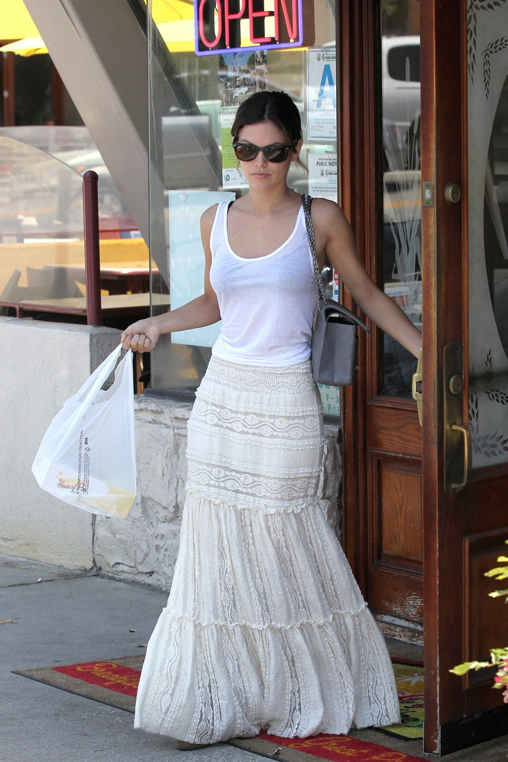 17 Best images about White maxi skirt on Pinterest | Maxi skirts ...