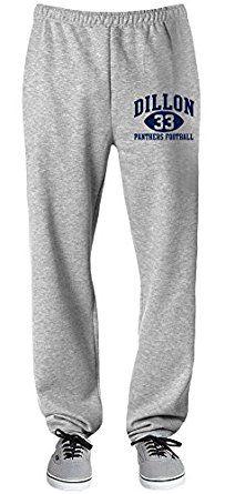 Dillon Panthers Football Sweatpants at Amazon Men's Clothing store: