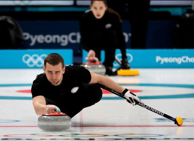 Olympic Curling Rocked by Russian Doping Case Sports
