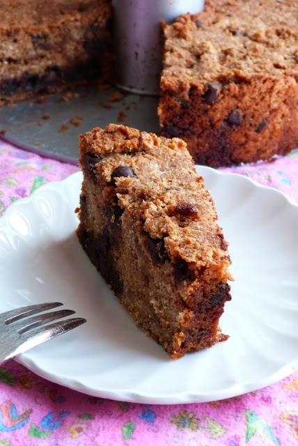 Gluten-Free, Vegan Chocolate Chip Coffee Cake with link to grain-free ...
