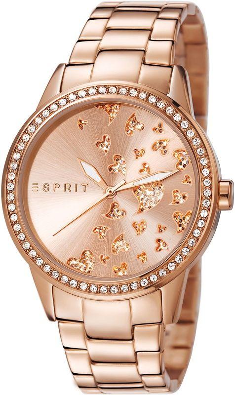 Esprit aimee dazzle rose gold ES107312004 Damenuhr