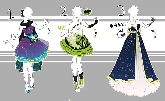 .::Adoptable Collection 3(OPEN)::. by Scarlett-Knight.deviantart.com on @DeviantArt
