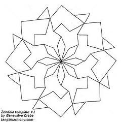 Zendala templates set