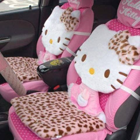 Hello kitty seat covers want pinterest seat - Hello kitty car interior accessories ...