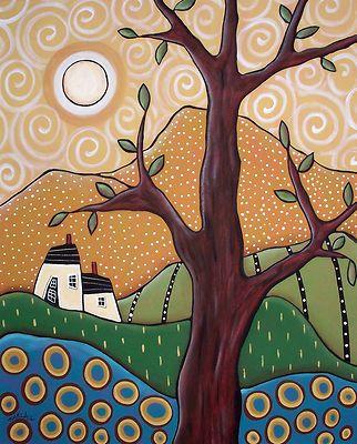 20x16 original acrylic painting by Karla Gerard