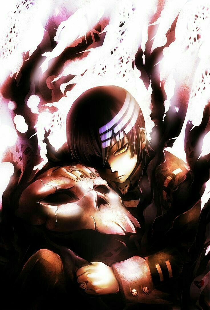 Death the Kid, Lord Death, dead, death, sad, cool; Soul Eater