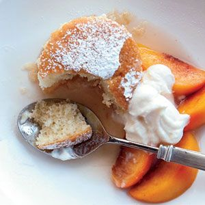 Peach and Apple Shortcake