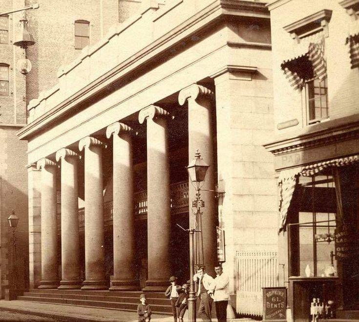 The Arcade in Providence around 1890. Rhode island