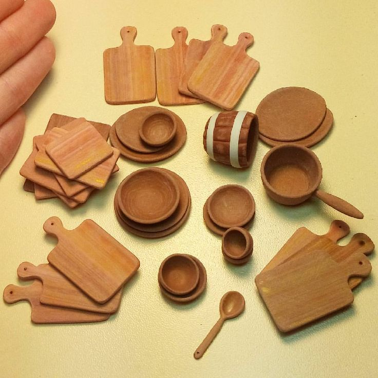 Miniature from Polimer clay. Scale 1:12. Handmade.