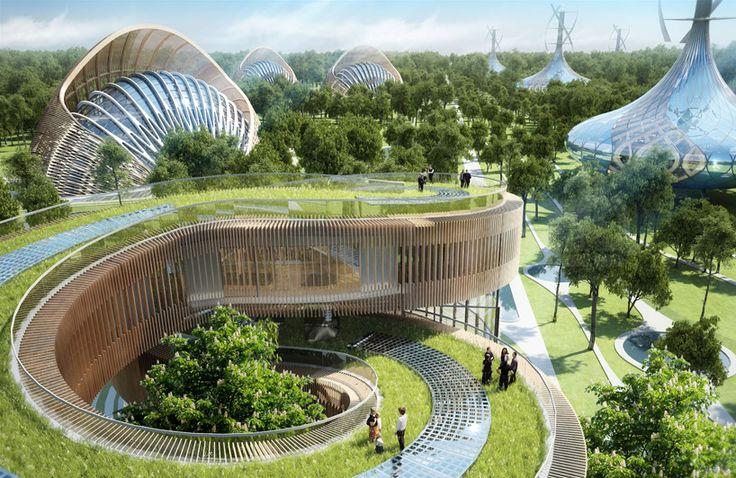 vincent callebaut fills flavours orchard with sculptural villas [Futuristic Architecture: http://futuristicnews.com/category/future-architecture/]