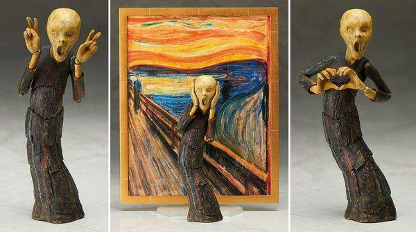 Лучшее, что принесла лента за сегодня Крик, Action Figures, Эдвард Мунк Крик