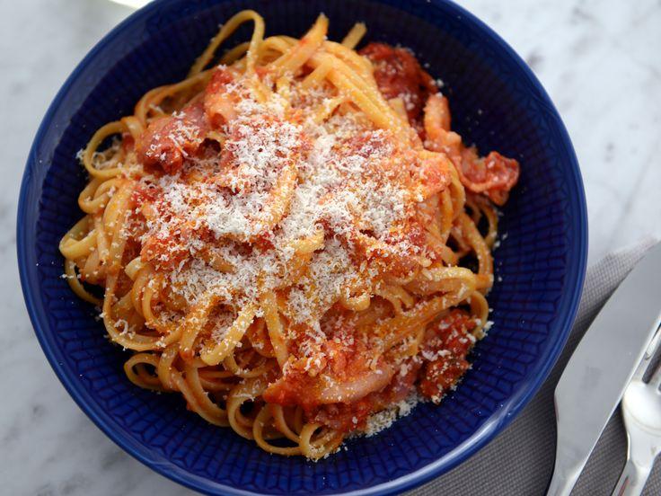Paolos spaghetti all´amatriciana | Recept från Köket.se