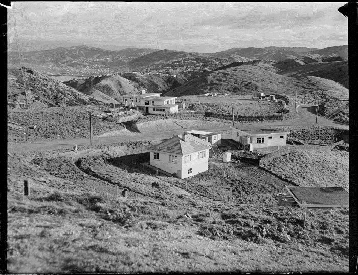 Johnsonville,Wellington, New Zealand 1950s - Newlands late 1950s