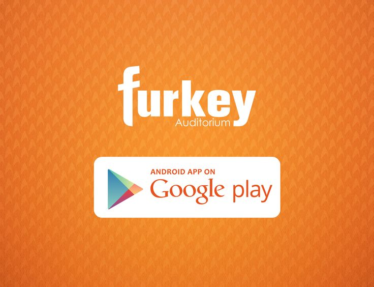 We are now on Google Play! Stay tuned with Furkey Auditorium' s special android app. https://play.google.com/store/apps/details?id=com.furkeyauditorium
