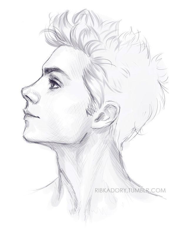 Bildschnittstelle für Bleistift zeichnen des Jungen – Betül