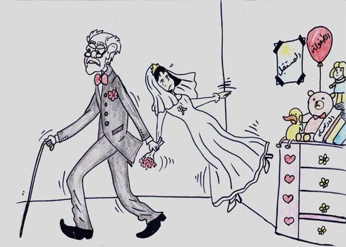 quand les petites syriennes dessinent leurs mariages forcs httpwwwlefigaro - Mariage Forc Chronique