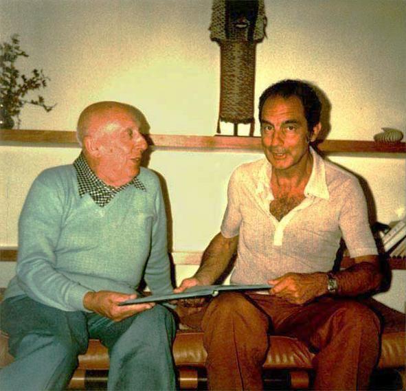Fausto Melotti e Italo Calvino