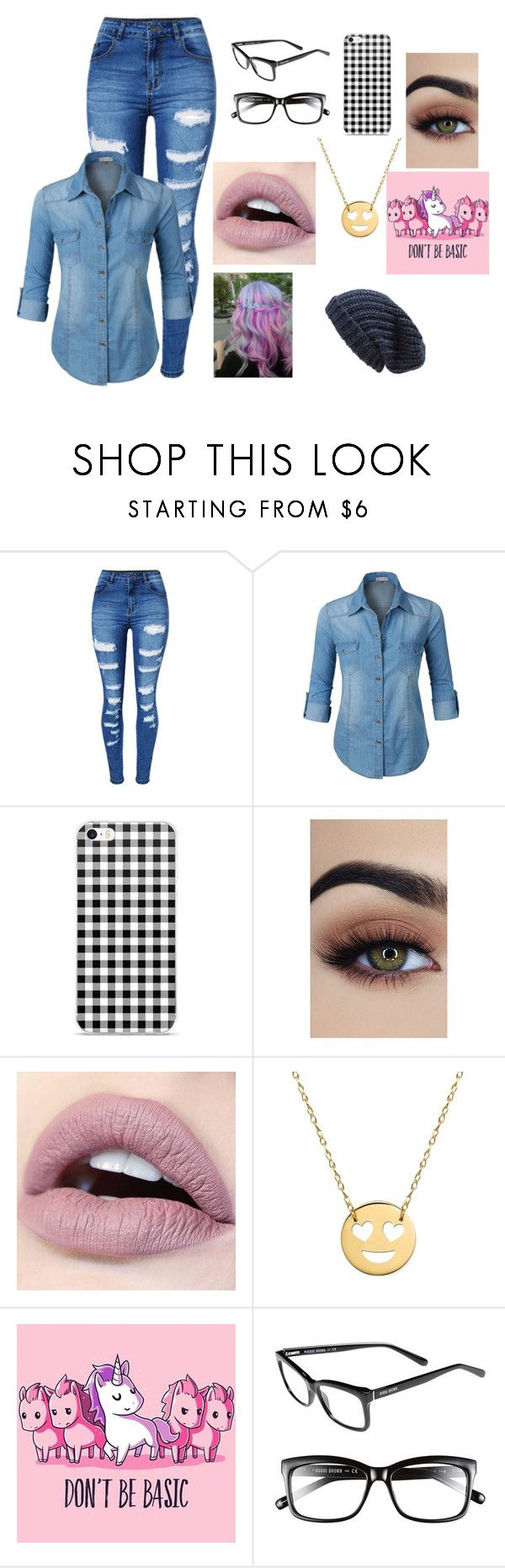 """Jaiden Smith #5"" by maya-fischbach on Polyvore featuring WithChic, LE3NO, Jane Basch, Bobbi Brown Cosmetics and Phase 3"