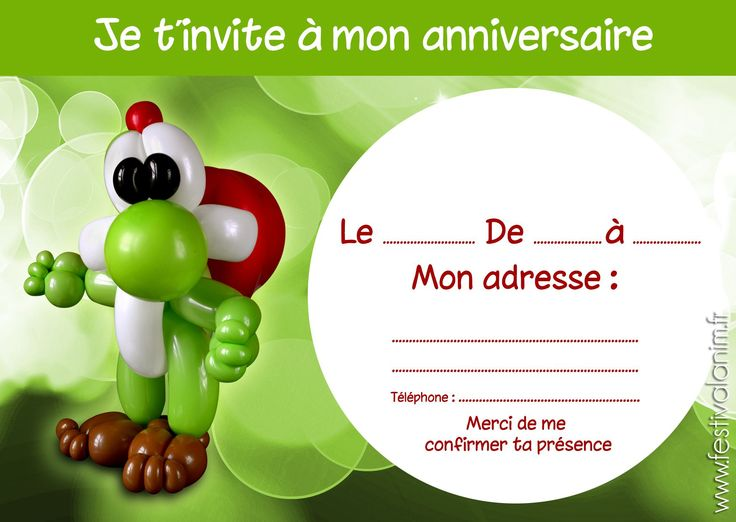 carte invitation anniversaire gratuite dromadaire