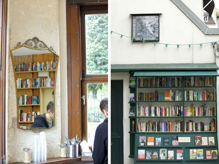 The newly opened Shakespeare & Company Café is located next-door to the famed bookstore that carries the same name.