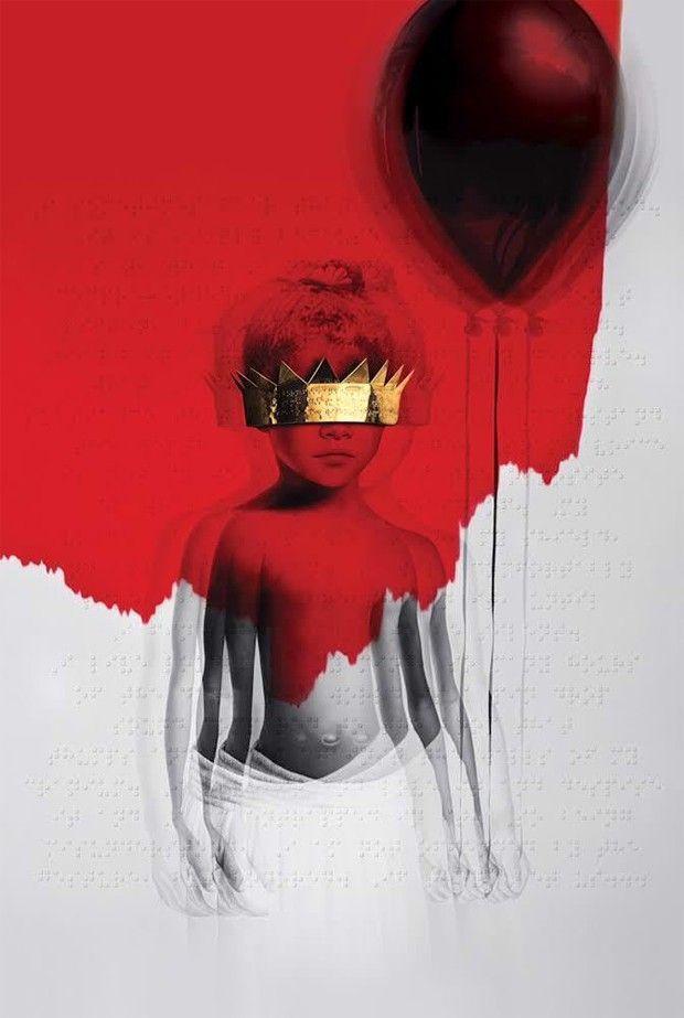 Imagem da capa de 'Anti', novo álbum de Rihanna (Foto: Divulgação)