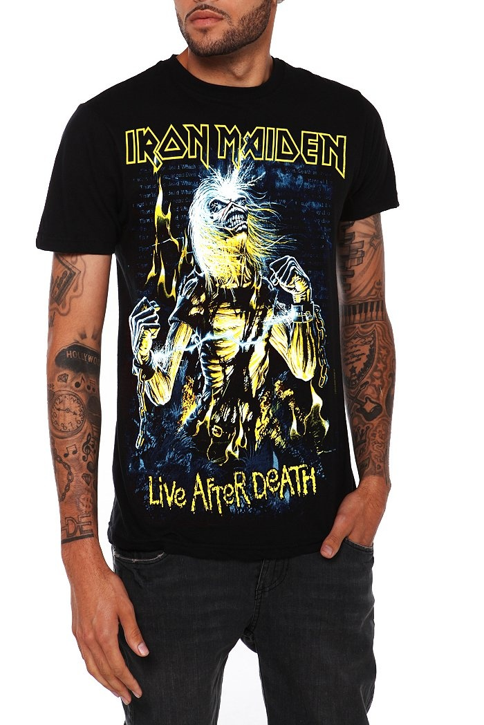 Iron Maiden Live After Death T-Shirt
