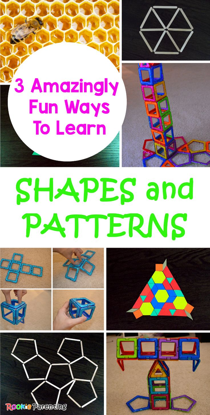 16 fun activities for learning shapes - The Measured Mom