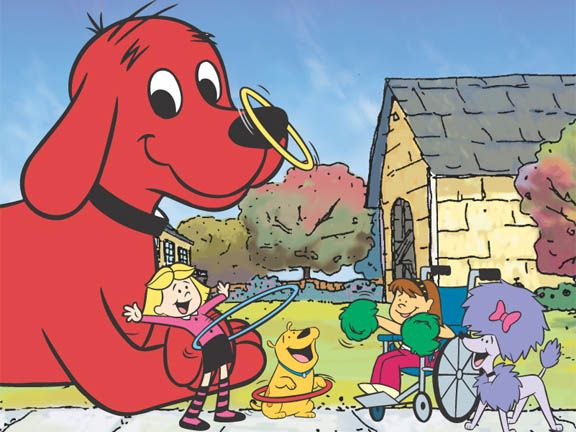 Elizabeth And Clifford The Big Red Dog Picture