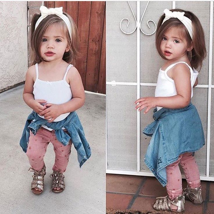 those lips!! This outfit is so simple and beautiful for a little girl