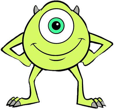 Mike Monsters Inc Clipart Clipartfest Rock Painting