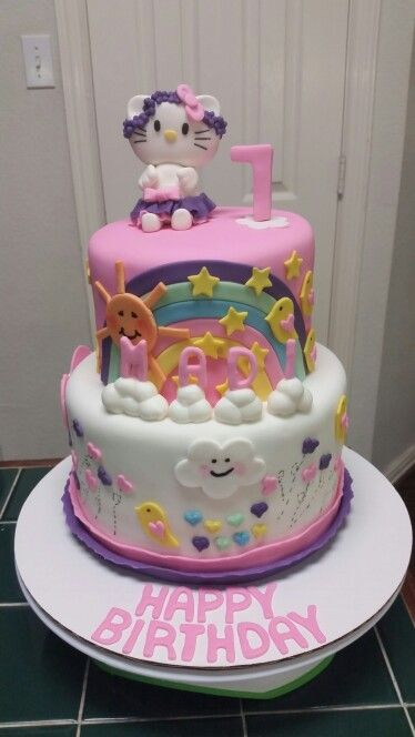 Amy's Crazy Cakes - Hello Kitty Cake