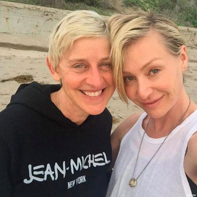 Ellen Degeneres, 57, and Portia de Rossi, 42 ...recently ...