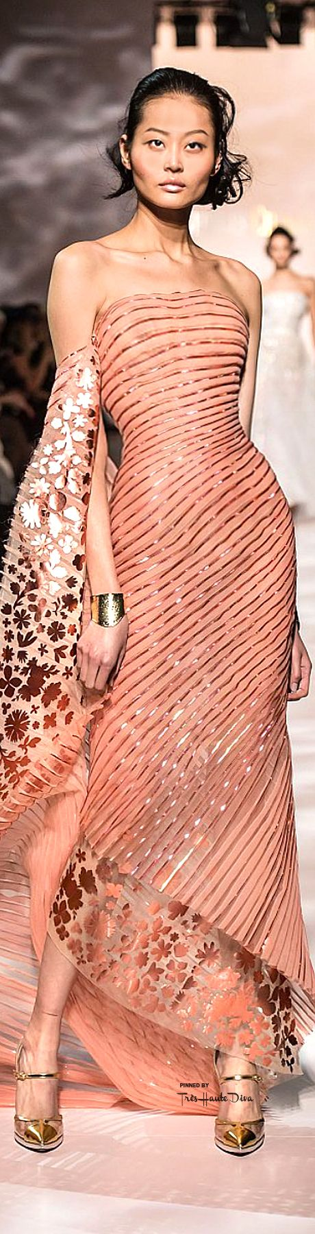 Georges Chakra Spring 2015 Couture ♔THD♔