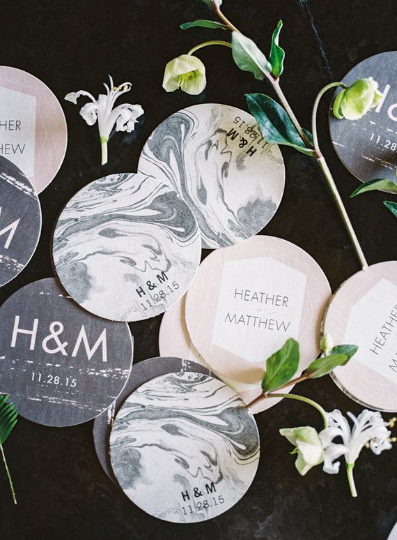 25 best ideas about wedding coasters on pinterest for Drink coaster ideas