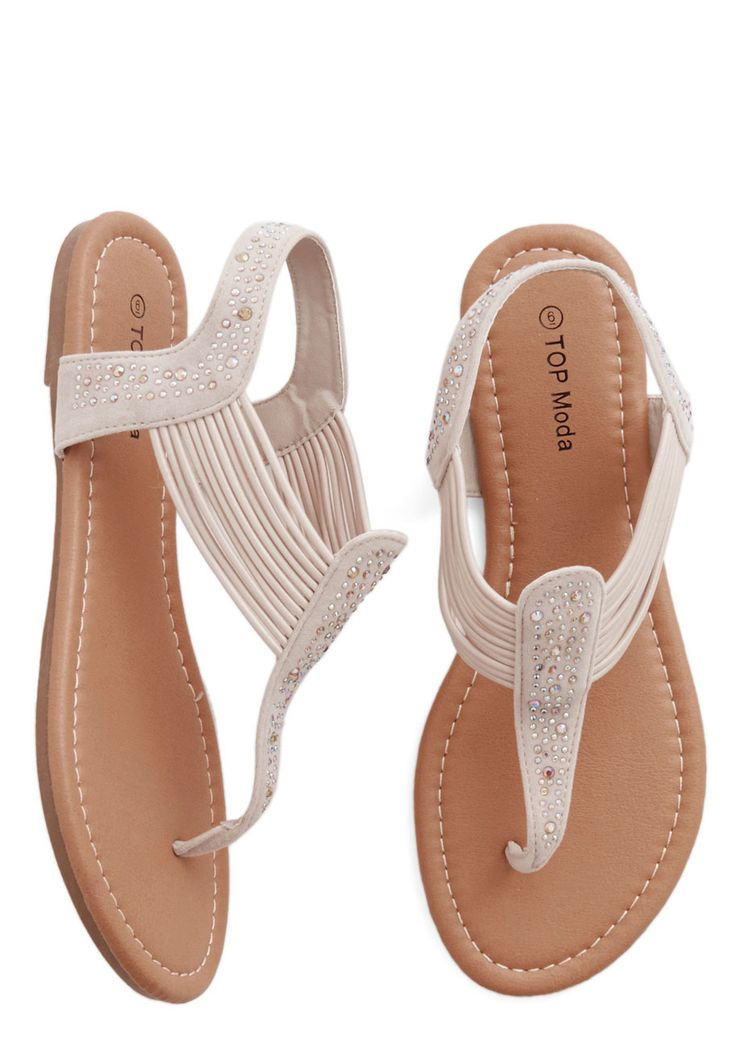 Banded Together Sandal. You and your fashionista friends have quite the  ongoing clothing swap,