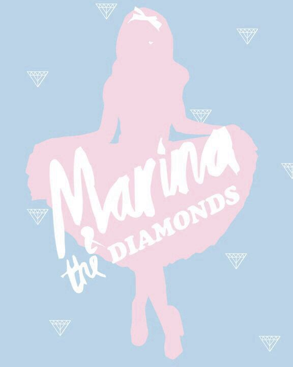 Marina and The Diamonds // funny thing, I made this graphic and then it just was everywhere and so many people stole it and I still see it pop up from time to time. -am